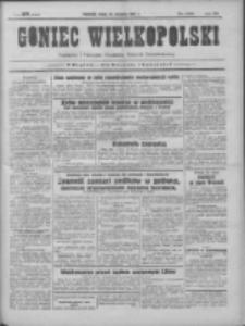 Goniec Wielkopolski: najtańsze pismo codzienne dla wszystkich stanów 1931.08.19 R.55 Nr189