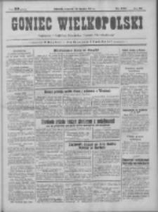 Goniec Wielkopolski: najtańsze pismo codzienne dla wszystkich stanów 1931.08.20 R.55 Nr190