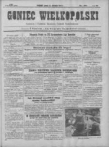 Goniec Wielkopolski: najtańsze pismo codzienne dla wszystkich stanów 1931.08.21 R.55 Nr191