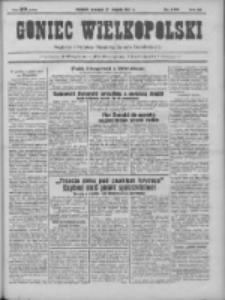Goniec Wielkopolski: najtańsze pismo codzienne dla wszystkich stanów 1931.08.27 R.55 Nr196