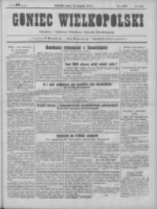 Goniec Wielkopolski: najtańsze pismo codzienne dla wszystkich stanów 1931.08.29 R.55 Nr198