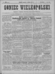 Goniec Wielkopolski: najtańsze pismo codzienne dla wszystkich stanów 1931.09.03 R.55 Nr202