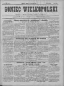 Goniec Wielkopolski: najtańsze pismo codzienne dla wszystkich stanów 1931.09. R.55 Nr204