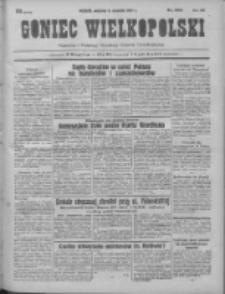 Goniec Wielkopolski: najtańsze pismo codzienne dla wszystkich stanów 1931.09.06 R.55 Nr205