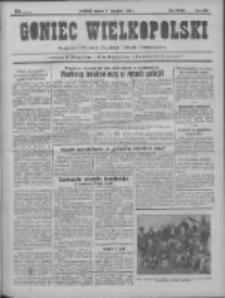Goniec Wielkopolski: najtańsze pismo codzienne dla wszystkich stanów 1931.09.08 R.55 Nr206