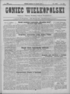 Goniec Wielkopolski: najtańsze pismo codzienne dla wszystkich stanów 1931.09.20 R.55 Nr217