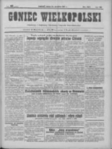 Goniec Wielkopolski: najtańsze pismo codzienne dla wszystkich stanów 1931.09.22 R.55 Nr218