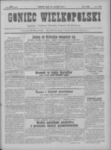 Goniec Wielkopolski: najtańsze pismo codzienne dla wszystkich stanów 1931.09.25 R.55 Nr221