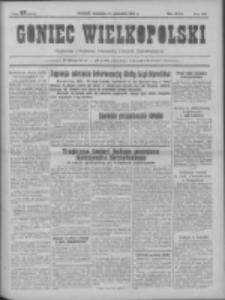 Goniec Wielkopolski: najtańsze pismo codzienne dla wszystkich stanów 1931.09.27 R.55 Nr223+dodatek