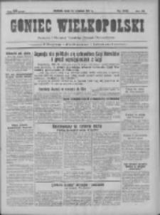 Goniec Wielkopolski: najtańsze pismo codzienne dla wszystkich stanów 1931.09.30 R.55 Nr225