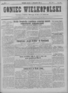 Goniec Wielkopolski: najtańsze pismo codzienne dla wszystkich stanów 1931.10.04 R.55 Nr229