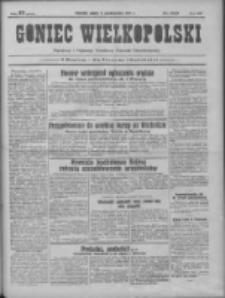 Goniec Wielkopolski: najtańsze pismo codzienne dla wszystkich stanów 1931.10.09 R.55 Nr233