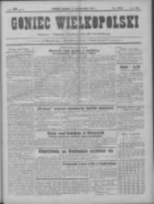 Goniec Wielkopolski: najtańsze pismo codzienne dla wszystkich stanów 1931.10.11 R.55 Nr235
