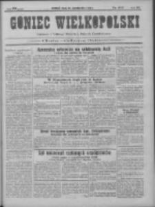 Goniec Wielkopolski: najtańsze pismo codzienne dla wszystkich stanów 1931.10.14 R.55 Nr237
