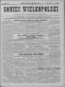 Goniec Wielkopolski: najtańsze pismo codzienne dla wszystkich stanów 1931.10.18 R.55 Nr241+dodatek