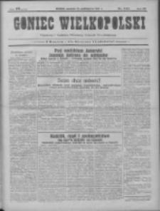 Goniec Wielkopolski: najtańsze pismo codzienne dla wszystkich stanów 1931.10.22 R.55 Nr244