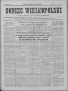 Goniec Wielkopolski: najtańsze pismo codzienne dla wszystkich stanów 1931.10.29 R.55 Nr250