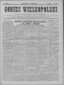 Goniec Wielkopolski: najtańsze pismo codzienne dla wszystkich stanów 1931.11.01 R.55 Nr253