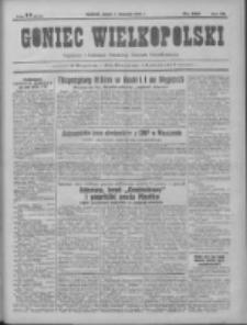 Goniec Wielkopolski: najtańsze pismo codzienne dla wszystkich stanów 1931.11.07 R.55 Nr258