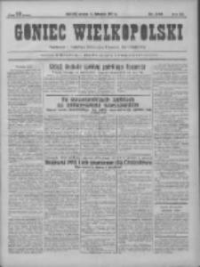 Goniec Wielkopolski: najtańsze pismo codzienne dla wszystkich stanów 1931.11.10 R.55 Nr260