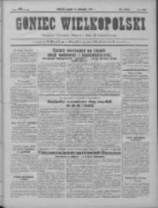Goniec Wielkopolski: najtańsze pismo codzienne dla wszystkich stanów 1931.11.13 R.55 Nr263