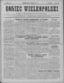 Goniec Wielkopolski: najtańsze pismo codzienne dla wszystkich stanów 1931.11.18 R.55 Nr267