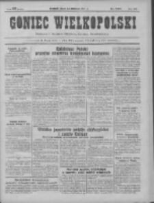 Goniec Wielkopolski: najtańsze pismo codzienne dla wszystkich stanów 1931.11.20 R.55 Nr269