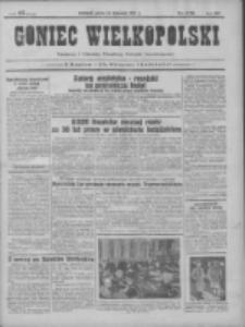 Goniec Wielkopolski: najtańsze pismo codzienne dla wszystkich stanów 1931.11.21 R.55 Nr270