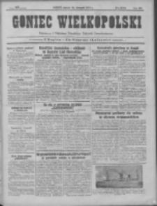 Goniec Wielkopolski: najtańsze pismo codzienne dla wszystkich stanów 1931.11.24 R.55 Nr272