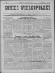 Goniec Wielkopolski: najtańsze pismo codzienne dla wszystkich stanów 1931.11.25 R.55 Nr273