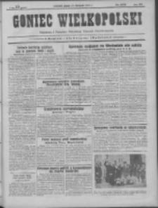 Goniec Wielkopolski: najtańsze pismo codzienne dla wszystkich stanów 1931.11.27 R.55 Nr275