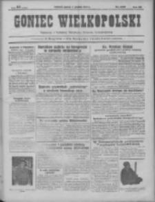 Goniec Wielkopolski: najtańsze pismo codzienne dla wszystkich stanów 1931.12.01 R.55 Nr278