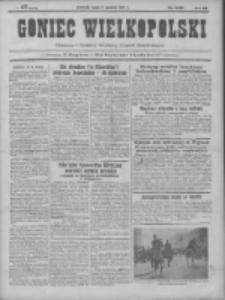 Goniec Wielkopolski: najtańsze pismo codzienne dla wszystkich stanów 1931.12.02 R.55 Nr279