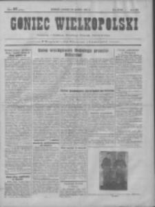 Goniec Wielkopolski: najtańsze pismo codzienne dla wszystkich stanów 1931.12.10 R.55 Nr285