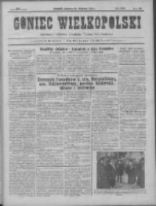 Goniec Wielkopolski: najtańsze pismo codzienne dla wszystkich stanów 1931.11.22 R.55 Nr271