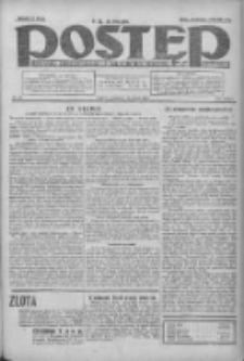 Postęp: dziennik chrześcijański i narodowy: wychodzi w Poznaniu 1924.02.21 R.35 Nr43