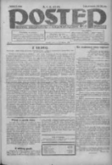 Postęp: dziennik chrześcijański i narodowy: wychodzi w Poznaniu 1924.02.28 R.35 Nr49