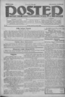 Postęp: dziennik chrześcijański i narodowy: wychodzi w Poznaniu 1924.03.11 R.35 Nr59