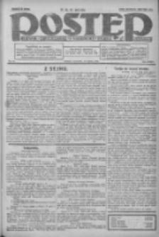 Postęp: dziennik chrześcijański i narodowy: wychodzi w Poznaniu 1924.03.13 R.35 Nr61