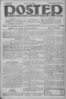 Postęp: dziennik chrześcijański i narodowy: wychodzi w Poznaniu 1924.03.19 R.35 Nr66