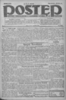 Postęp: dziennik chrześcijański i narodowy: wychodzi w Poznaniu 1924.04.02 R.35 Nr78