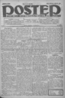 Postęp: dziennik chrześcijański i narodowy: wychodzi w Poznaniu 1924.04.03 R.35 Nr79