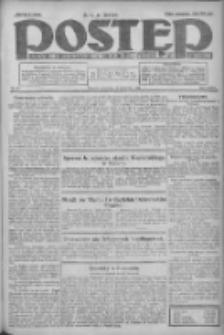Postęp: dziennik chrześcijański i narodowy: wychodzi w Poznaniu 1924.04.10 R.35 Nr85
