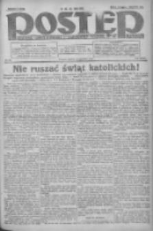 Postęp: dziennik chrześcijański i narodowy: wychodzi w Poznaniu 1924.04.15 R.35 Nr88