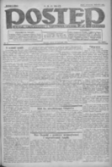 Postęp: dziennik chrześcijański i narodowy: wychodzi w Poznaniu 1924.04.19 R.35 Nr93