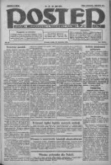 Postęp: dziennik chrześcijański i narodowy: wychodzi w Poznaniu 1924.04.23 R.35 Nr95