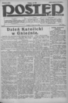 Postęp: dziennik chrześcijański i narodowy: wychodzi w Poznaniu 1924.05.06 R.35 Nr105