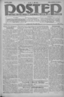 Postęp: dziennik chrześcijański i narodowy: wychodzi w Poznaniu 1924.05.08 R.35 Nr107