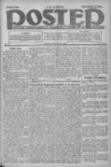 Postęp: dziennik chrześcijański i narodowy: wychodzi w Poznaniu 1924.05.20 R.35 Nr116