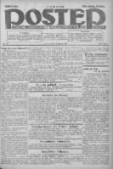 Postęp: dziennik chrześcijański i narodowy: wychodzi w Poznaniu 1924.06.03 R.35 Nr127